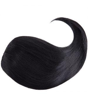 Pony aus synthetischem Haar - Seitlich