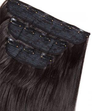 Synthetische Haare Clip in Extensions