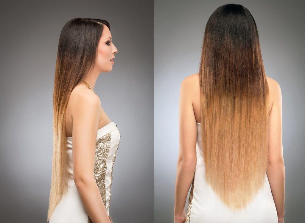 Haarverlangerung gesunde methode